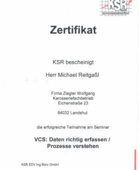 Reitgaßl KSR VCS Daten 001