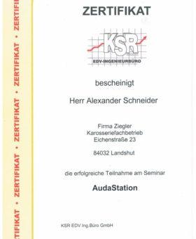 Schneider KSR AudaStation
