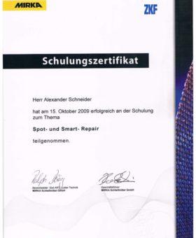 Schneider Spot und Smart-Repair