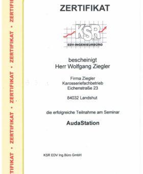 Ziegler KSR Audastation 001