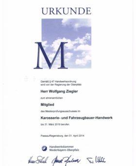 Ziegler Meisterprüfungsausschuss 001