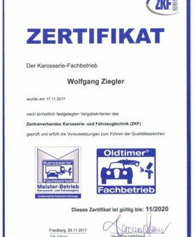 Ziegler Oldtimerfachbetrieb 001